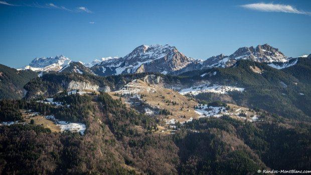 Vue depuis la Montagne d'Himentaz