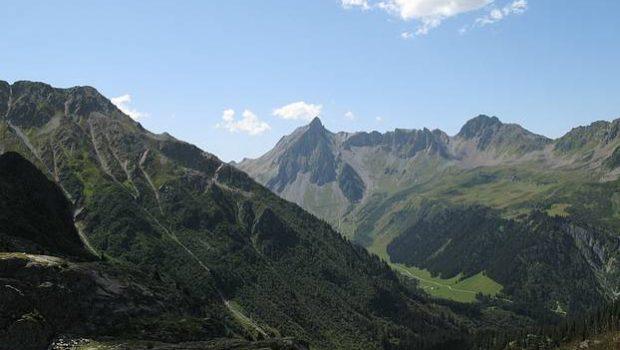Tête de la Cicle vue depuis le chemin menant au Glacier de Tré-la-Tête